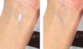 アテニア ホワイトジェネシスを使っている肌の写真