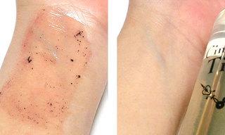 シンデレラタイム ブースターセラム ナノクレンジングゲルを使ってクレンジングしている肌、その2