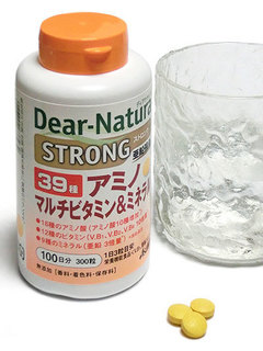 ディアナチュラ ストロング39 アミノ マルチビタミン&ミネラルは1日3粒で手軽!