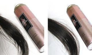 ドライシャンプー ロータスフラワーを使っている髪