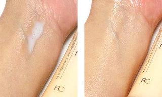 ファンケル 無添加 アクティブコンディショニング EX 乳液 しっとりを使っている肌の写真