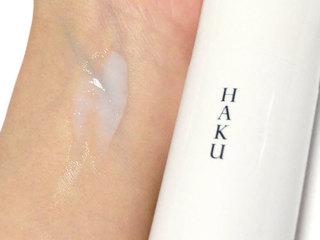 HAKU メラノフォーカスVを使っている肌の写真