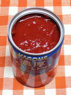カゴメ 濃厚あらごしトマト、酸味が少なくて美味しいトマト缶