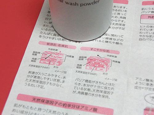 敏感肌、乾燥肌の洗顔に、ミノン アミノモイスト クリアウォッシュ パウダー