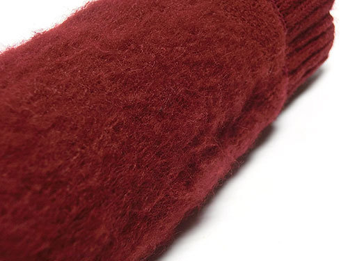 もちはだ ポカポカソックス、靴下の裏側は起毛で暖かさ抜群