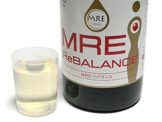 MREリバランス、わずかに色は付いているがほぼ無味無臭で飲みやすい