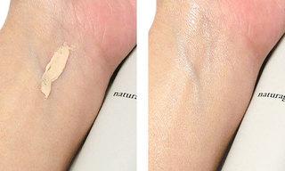 ナチュラグラッセ メイクアップ クリームN、ナチュラルベージュを使っている肌の写真