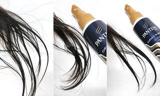パンテーン インテンシブ ヴィタミルク パサついてまとまらない髪用、タオルドライ後に使っている髪