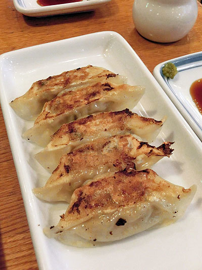 リンガーハット ぎょうざ(餃子)も国産小麦で作られている