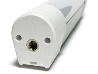 USB充電式 LEDハンディライト、カメラの三脚取り付け穴側