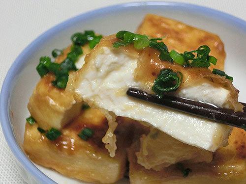 チヂミ粉で揚げない揚げ出し豆腐