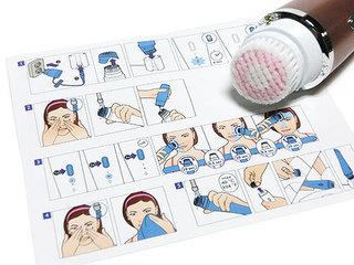 フィリップス ビザピュア 洗顔ブラシの使い方