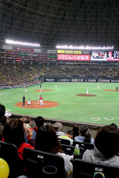 福岡 ヤフオク!ドームでホークス観戦