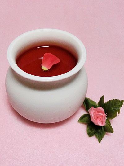 癒しの薔薇スイーツ、イチオシ!バラのプリン