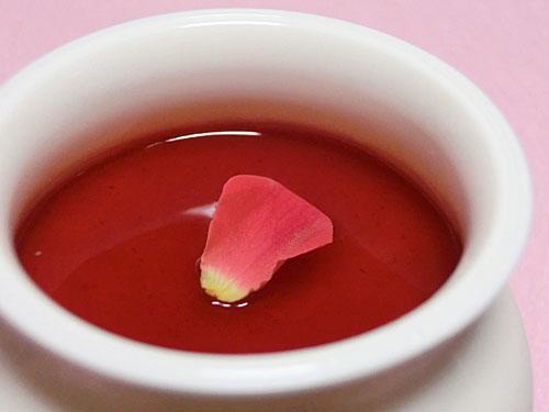 薔薇(バラ)のプリン