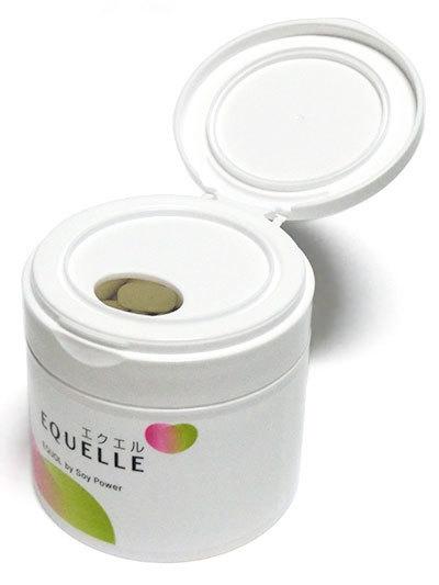 エクオール配合のサプリメント、EQUELLE(エクエル)