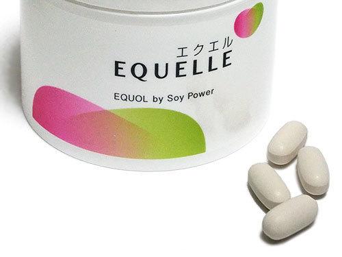 EQUELLE(エクエル)は1日4粒を目安に飲む