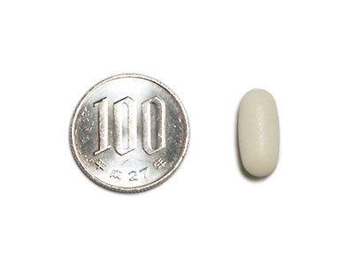 EQUELLE(エクエル)、サプリメントの大きさ比較