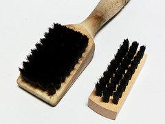 ハイベック しみ抜き用専用ブラシとミニブラシの比較
