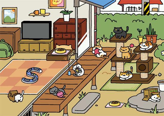 ねこあつめ 模様替え前(もようがえ前)/スマホアプリ・猫の無料ゲーム