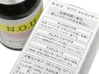 N.O.U サプリ セルサイザーの成分