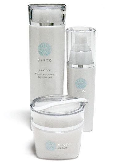 SiNTO化粧品 SiNTO 基本3点セット(化粧水、美容液、クリーム)