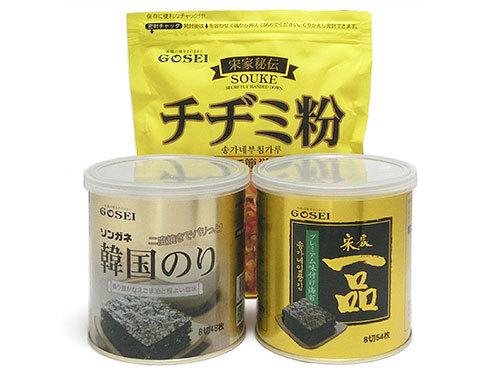 GOSEI 宋家秘伝 チヂミ粉、韓国海苔、宋家一品のり