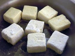 宋家 チヂミ粉で揚げない揚げ出し豆腐の作り方2