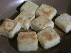 宋家 チヂミ粉で揚げない揚げ出し豆腐の作り方3